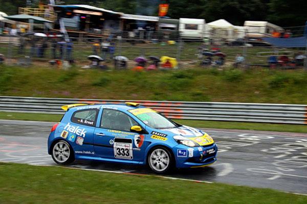 Stephan Ernst mit Lubner Motorsport in der Grünen Hölle